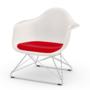 Eames Plastic Armchair LAR mit Sitzpolster von Vitra