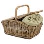 Rattan-Picknickkorb