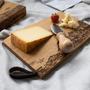Rustikales Holz-Schneidebrett von Panorama Knife