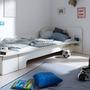 Einzelbett Plane mit Bettkasten