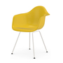 Vitra Charles und Ray Eames Eames Plastic Armchair DAX Stahlrohruntergestell