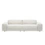 Sofa 'Neowall' mit niedrigen Armlehnen