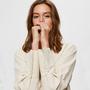 Hemdbluse mit V-Auschnitt von 'Selected Femme'