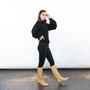 Beiger Stiefel von E8 by Miista