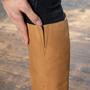 Brauner Stiefel von 'E8 by Miista' in Nubuk Leder