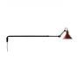DCW Éditions Kegelförmige Wandleuchte 'Lampe Gras N°213' Schwarz-Rot, Kegelförmig