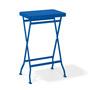 Richard Lampert  'Flip' in vielen Farben signalblau, ohne Ablageblech