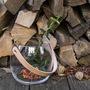 02 holmegaard vase lederhenkel