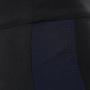12 maiocci schwarze legginshose navystreifen