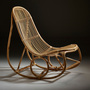 Sika nanny rocking chair natural
