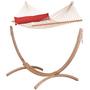 Hängematten Ständer aus Holz 02