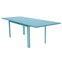 Costa table allonge turquoise