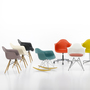 Vitra gruppe eames plastic armchairs