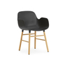 602764 form armchair blackoak 1