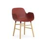 602767 form armchair redoak 1