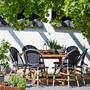 Gartentisch George Rund SIka Design