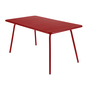 Luxembourg table 143x80 piment