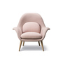 Fredericia Swoon Chair Stoff Rosa