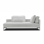 Plano sofa chaiselong 1 210x100 cm misty 20