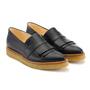 Angulus loafer schwarz fransen