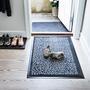 Tica copenhagen fussmatte laeufer footwear schwarz grau situation