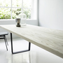 Lowlight table from side with deco steel copilot chair 4