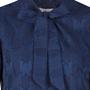Frauenbekleidung kleider viskose blau florence bluelace 4