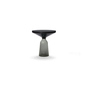 Bell side table black grey