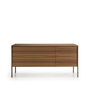Punt tactile sideboard b155 3 schubladen 1 tuer walnuss walnuss 1 cd0