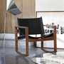 Peglev leather rocking chair 1