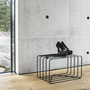 Lume shoestand small large coatstand small charcoalblack details heels h