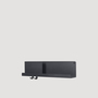 Folded Shelf Medium Schwarz Muuto