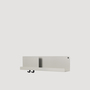 Folded Shelf Medium Hellgrau Muuto