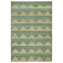 Hemp rug arctic dark mint