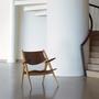 Wegner ch28 lounge chair walnut oak