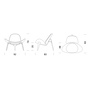 Skizze Shell Chair CH07 Carl Hansen
