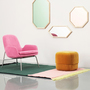 Lust mirror ambiente with era chair b