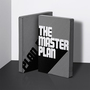 51968 notebook graphic l the master plan black white