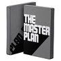 Nu43877 nuuna graphic l black smooth bonded leather cover notebook the master plan p1