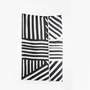 Coopdps cotton blankets towels coopdps sketch 3 cotton blankets by nathalie du pasquier george sowden black white 3 1024x1024