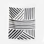 Coopdps cotton blankets towels coopdps sketch 3 cotton blankets by nathalie du pasquier george sowden black white 2 1024x1024