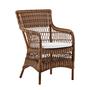 9196c marie armchair chestnut 20kopie