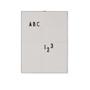 Messageboard A4 Design Letters