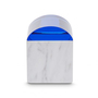 Lid curve top container front on