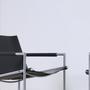 Martin visser sz02 lounge chair vintage saddle leather black sz 02 spectrum 1965 8