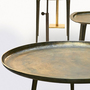 Pols potten antique brass coffee table group